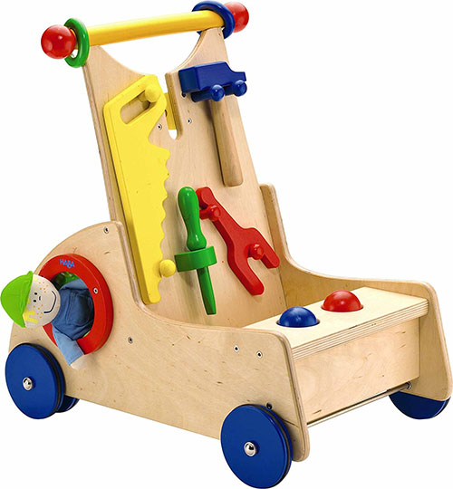 Learn to walk push toy