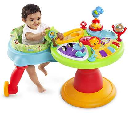 There Are A Lot Of Great Activity Tables Out In The Market But The Bright Starts Activity Center Stands Above Them All Because Of Their Brilliant Addition