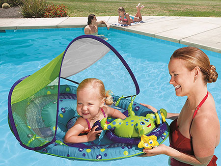 Best toys for 9 month old babies thetoytime for Can babies swim in saltwater pools
